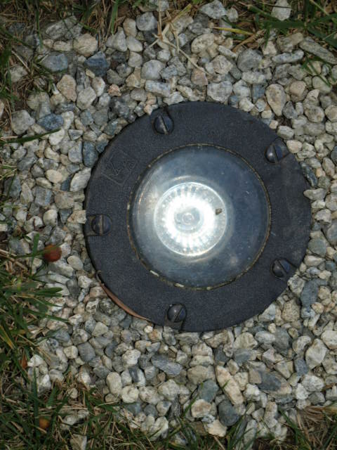 landscape lighting well light